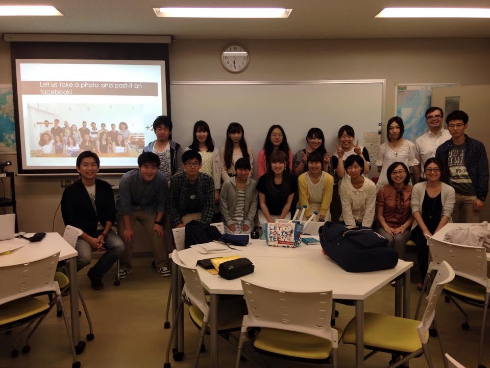 Chiba U students